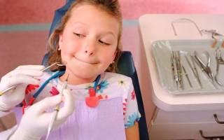 Флюс молочного зуба
