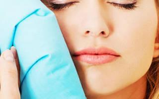 Как снять опухоль со щеки