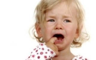 Припухлость на десне у ребенка